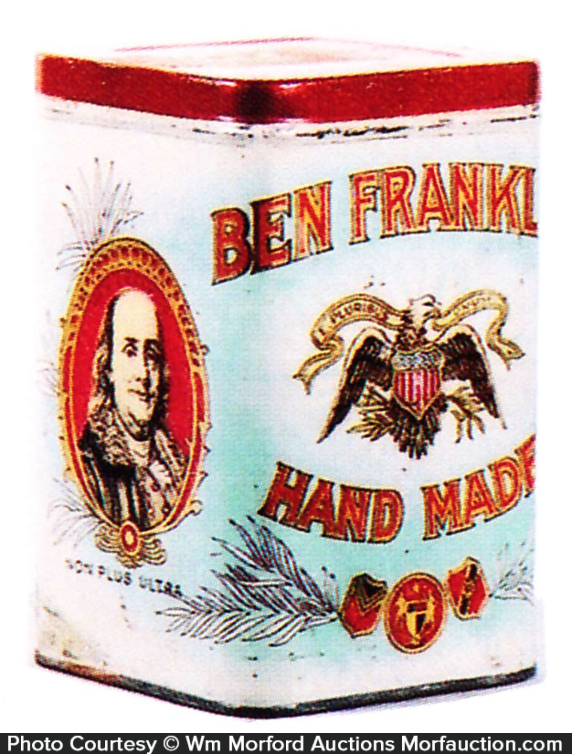 Ben Franklin Cigars Tin
