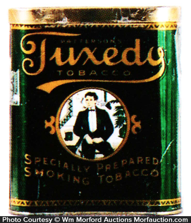 Tuxedo Tobacco Tin