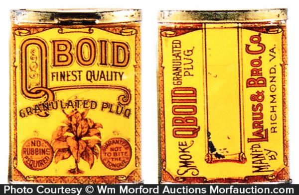 Q-Boid Plug Tobacco Tin