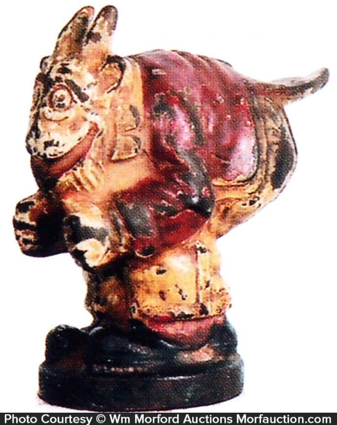 Old Doc Yak Hood Ornament