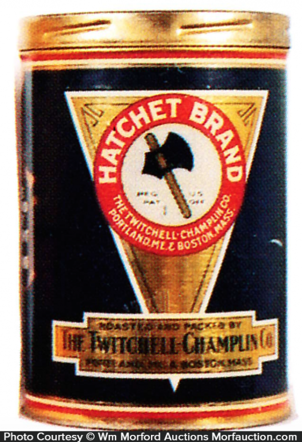 Hatchet Coffee Can