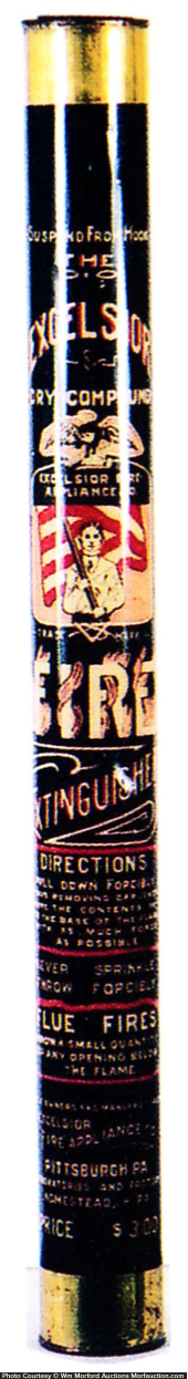 Excelsior Fire Extinguisher Fin