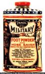 Zanol Military Foot Powder Tin