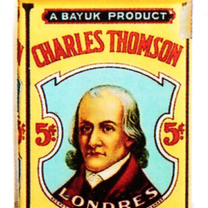 Charles Thomson Cigar Can