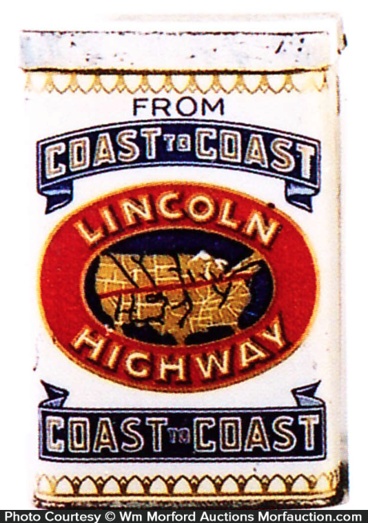 Lincoln Highway Cigar Can