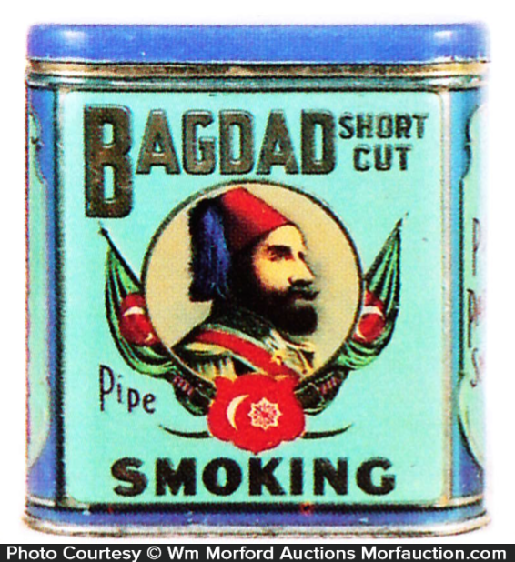 Bagdad Pipe Tobacco Tin