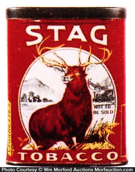 Stag Tobacco Tin