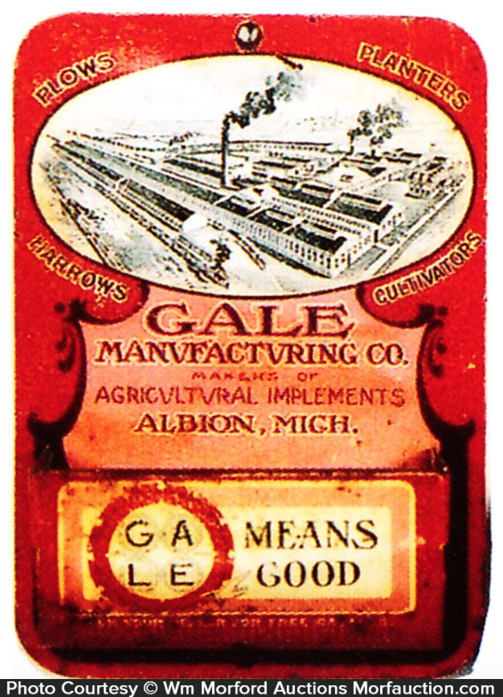 Gale Manufacturing Match Holder