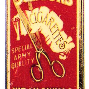 Scissors Cigarette Tin
