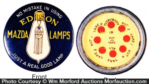 Edison Mazda Lamps Game