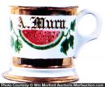 Watermelon Shaving Mug