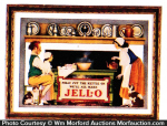 Jell-O Polly Put The Kettle On Sign