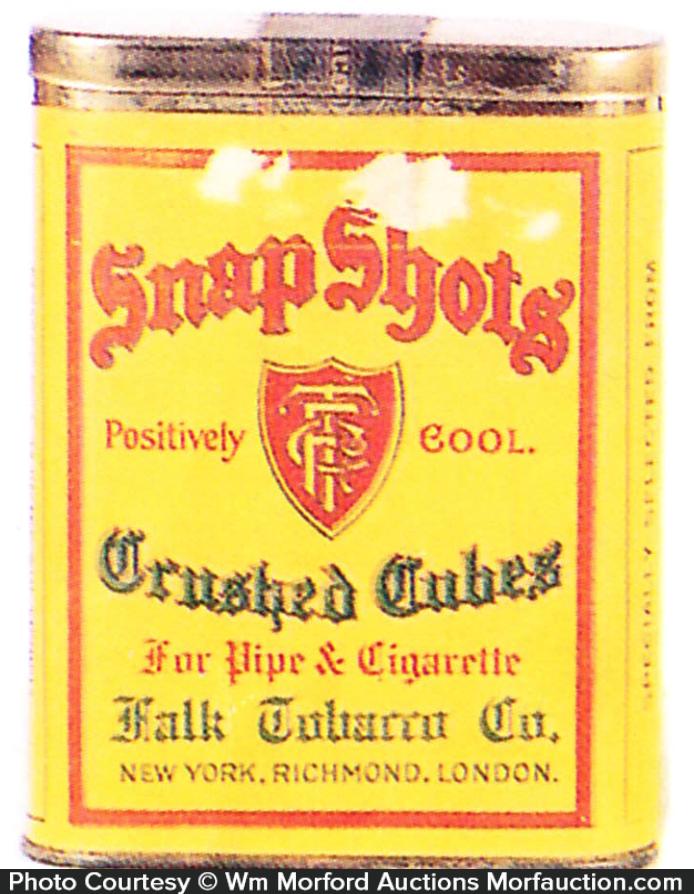 Snap Shots Tobacco Tin
