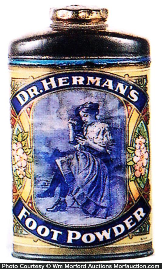 Dr. Herman's Foot Powder Tin