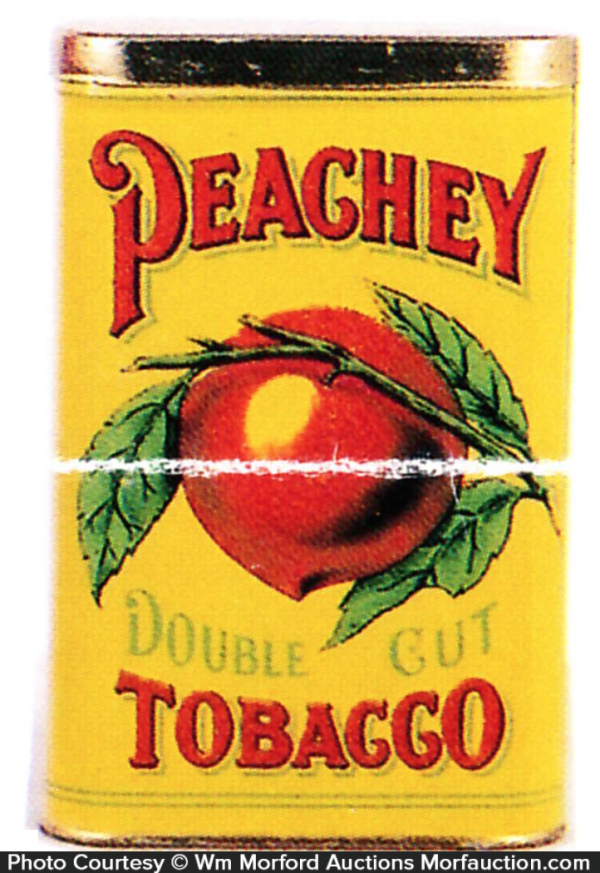 Peachy Tobacco Tin