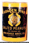 Golden Vine Peanuts Tin