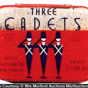 Three Cadets Condom Tin