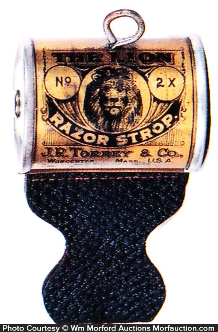 Lion Razor Strop Tin