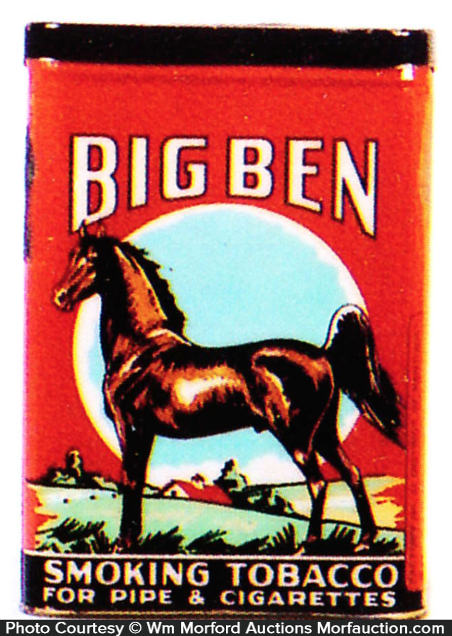 Big Ben Tobacco Tin