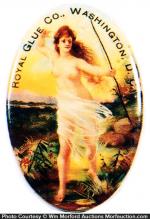 Royal Glue Pocket Mirror