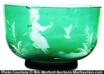 Mary Gregory Bowl