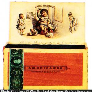 Jack Horner Cigar Box