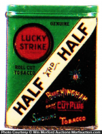 Half & Half Sample Tobacco Tin