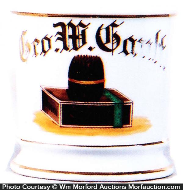 Cigar Shaving Mug