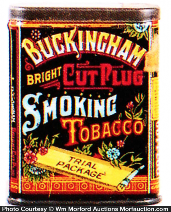 Buckingham Sample Tobacco Tin