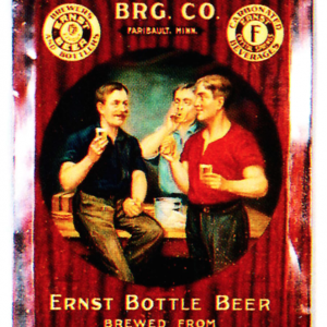 Fleckenstein Brewery Ernst Beer Sign