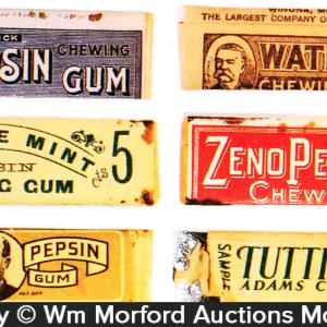 Vintage Chewing Gum Packs