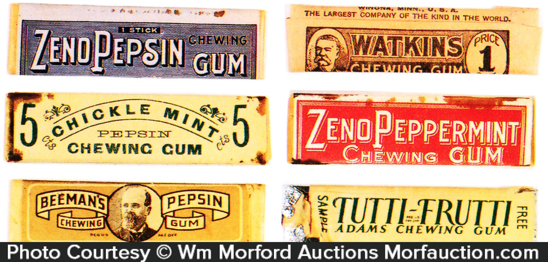 Vintage Chewing Gum Packs