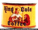 King Cole Coffee Can