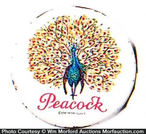 Peacock Condom Tin