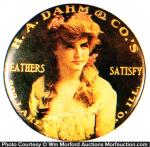 Dahm Leather Pocket Mirror