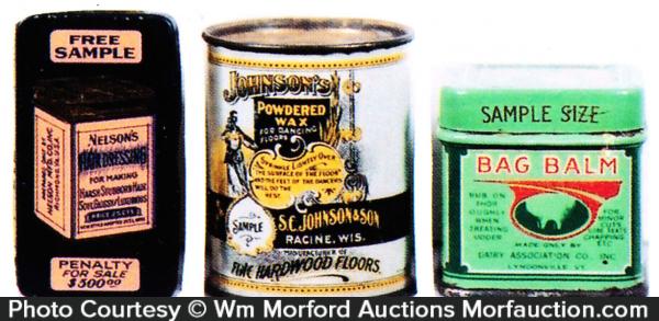 Vintage Advertising Samples