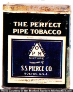 Perfect Pipe Tobacco Tin