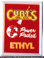 Curtis Oil Ethyl Pump Sign