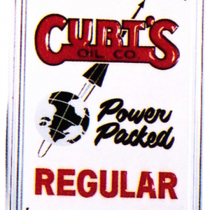 Curtis Oil Pump Sign
