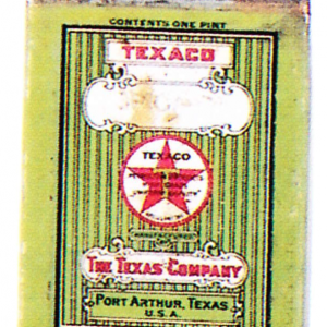 Texaco Oil Can