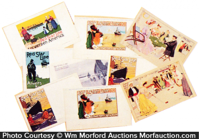 Star Ocean Liner Post Cards