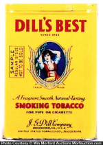 Dill's Best Sample Tobacco Tin