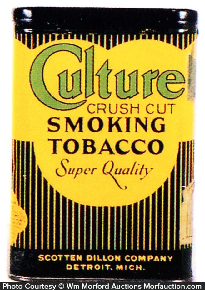 Culture Crush Cut Tobacco Tin