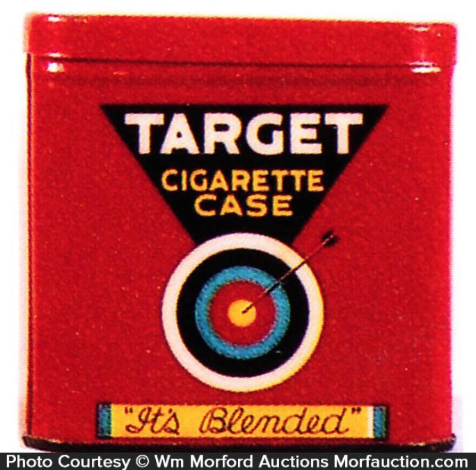 Target Cigarette Tobacco Tin