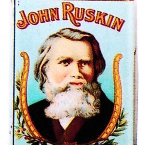 John Ruskin Cigar Can