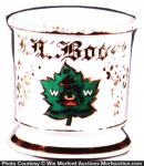 Woodsman Organization Shaving Mug