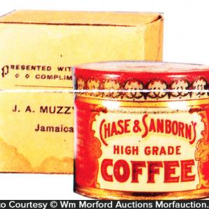 Chase & Sanborn's Coffee Sample Tin