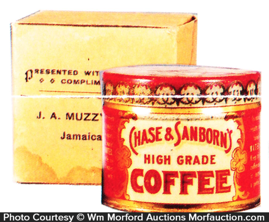 Chase & Sanborn's Coffee Sample Tin