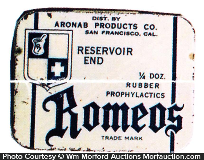 Romeos Condom Tin