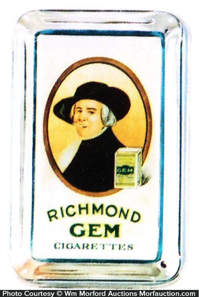Richmond Gem Cigarettes Ash Tray